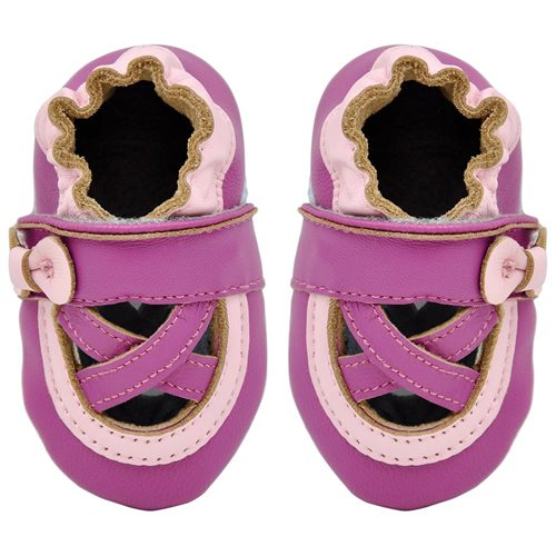 Momo-Baby-Girls-Infant-Toddler-Soft-Sole-Leather-Crib-Bootie-Shoes-Ballerina