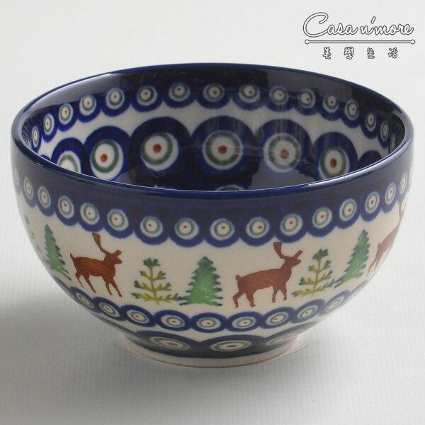 波蘭陶歡樂聖誕系列餐碗飯碗湯碗碗公12cm波蘭手工製