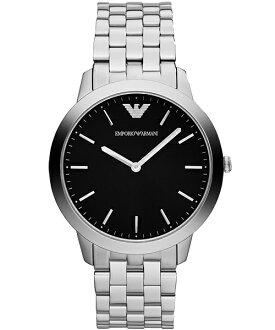 EMPORIO ARMANI/AR1744極限纖薄典雅時尚腕錶/白面41.5mm