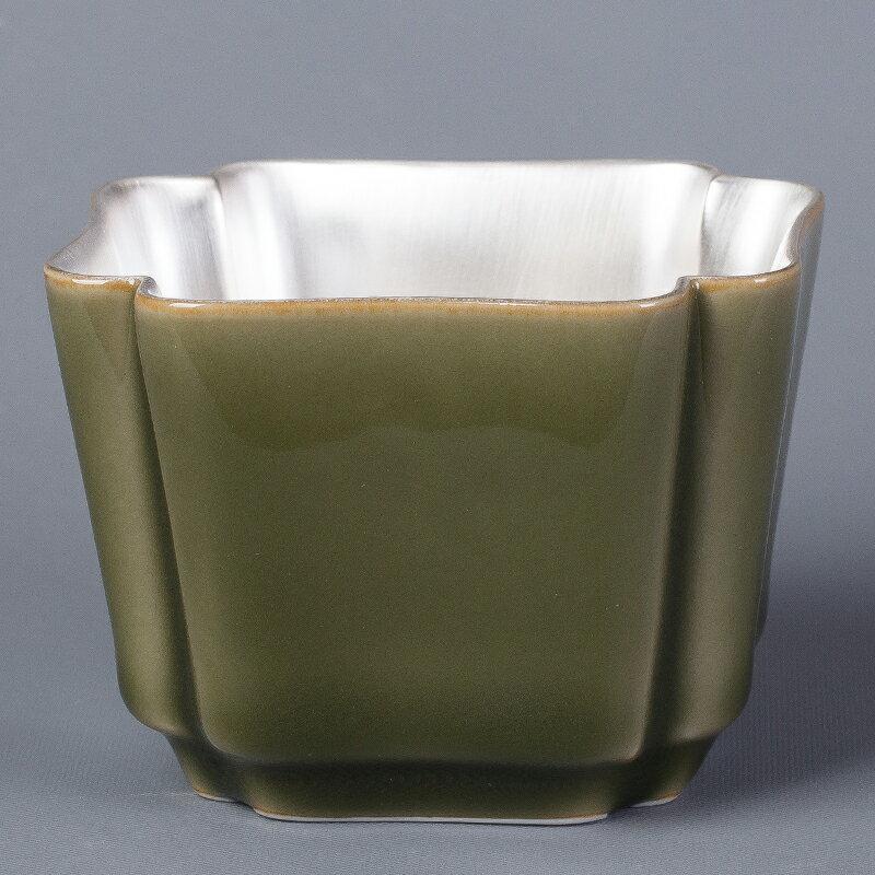逸峰茶點盤品茗杯陶瓷壺承手工建水干泡家用辦公盤功夫茶具配件
