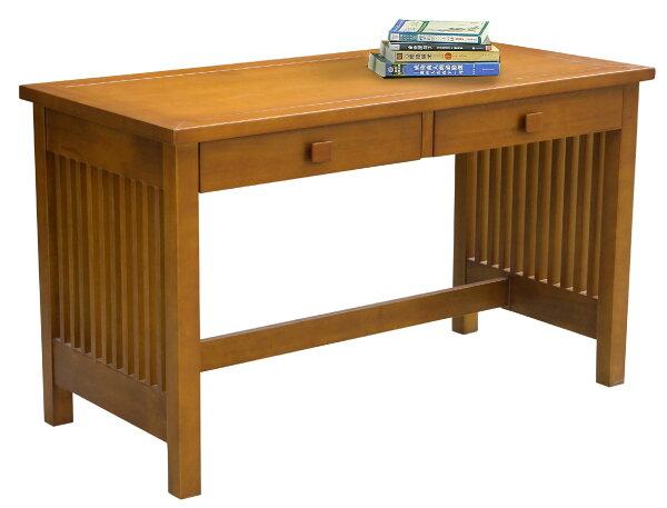 【尚品傢俱】JF-353-2蒂娜4尺柚木書桌