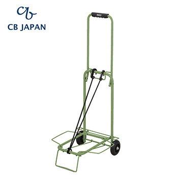 CB Japan 巴黎系列輕巧摺疊彩色手推車-森林綠