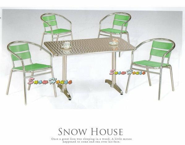 ╭☆雪之屋居家生活館☆╯AA977-1@特惠組合@ 派對組戶外摩登休閒桌椅組**一桌四椅