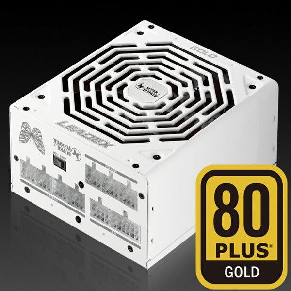 【滿3千15%回饋】SuperFlower振華LEADEX550W金牌80+SF-550F14MG全模組全日系電源供應器※回饋最高2000點