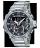 CASIO 卡西歐 GST-B200D-1A G-SHOCK系列G-STEEL藍牙雙顯運動錶 灰 49mm 0
