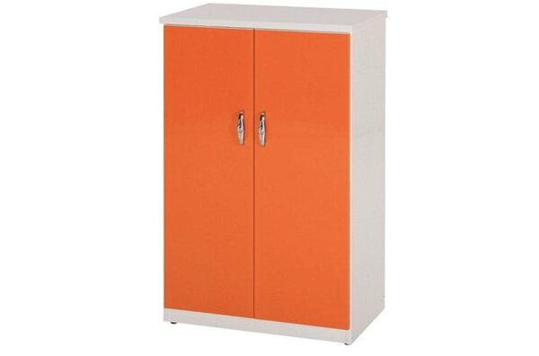 【石川家居】854-09(桔白色)鞋櫃(CT-308)#訂製預購款式#環保塑鋼P無毒防霉易清潔