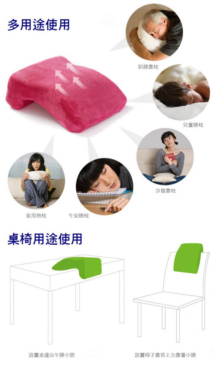 辦公室、教室必備L形午安記憶枕(現貨+預購)
