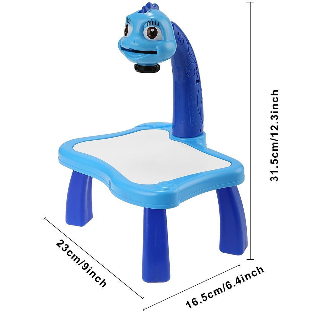 Kids Multifunctional Educational Development Drawing Painting Toy Fun Learning Desk Set 4