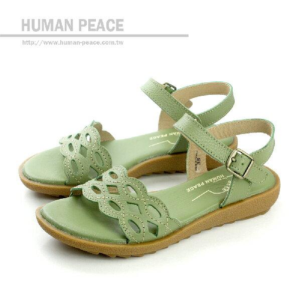HUMAN PEACE 涼鞋 綠色 女鞋 no055