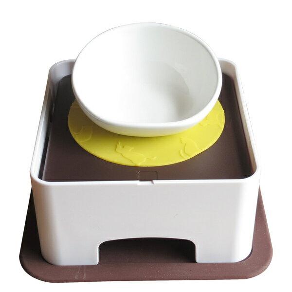 日本寵物餐桌 斜口碗~免運