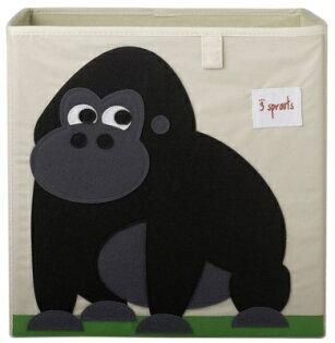 加拿大3Sprouts收納箱-大猩猩★衛立兒生活館★