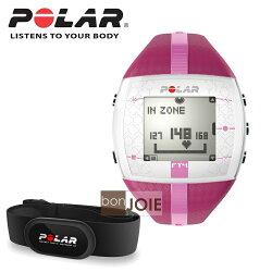 ::bonJOIE:: 美國進口 新款 Polar FT4 女款心跳錶 (粉紅色)(內含 Polar H1 軟式心跳帶)(全新盒裝) Heart Rate Monitor Training 心率錶