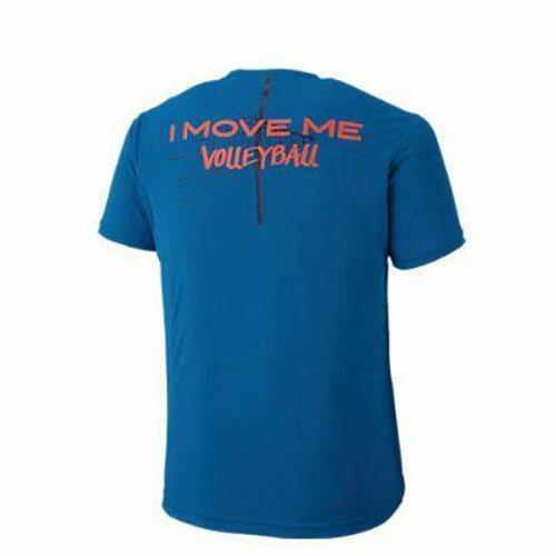 【領券最高折$430】亞瑟士 ASICS 排球印花 男 短袖T恤 - 2053A004-400 藍X橘【陽光樂活】