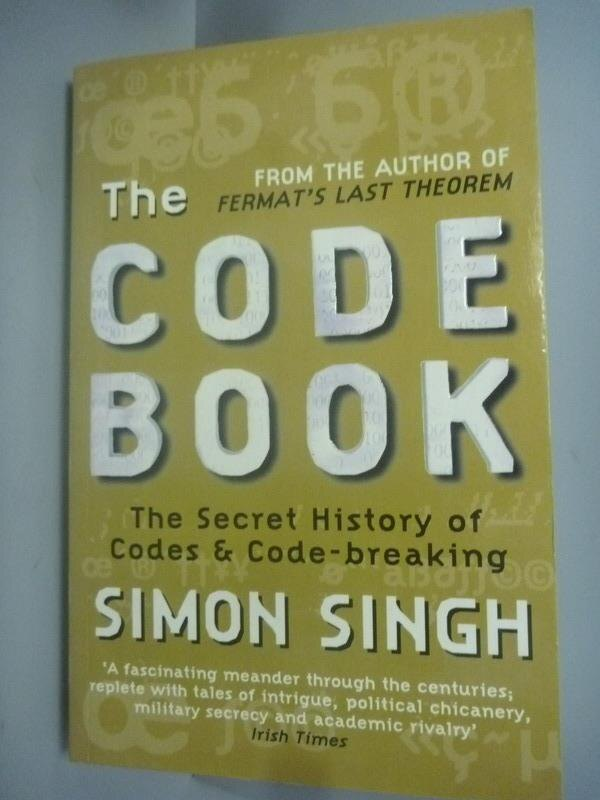【書寶二手書T1/歷史_IMG】The Code Book:The Secret History of