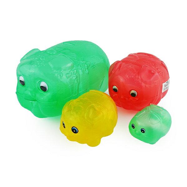 豬公存錢筒 小豬撲滿 透明豬撲滿 台灣製 交換禮物 /兒童玩具 台灣製造