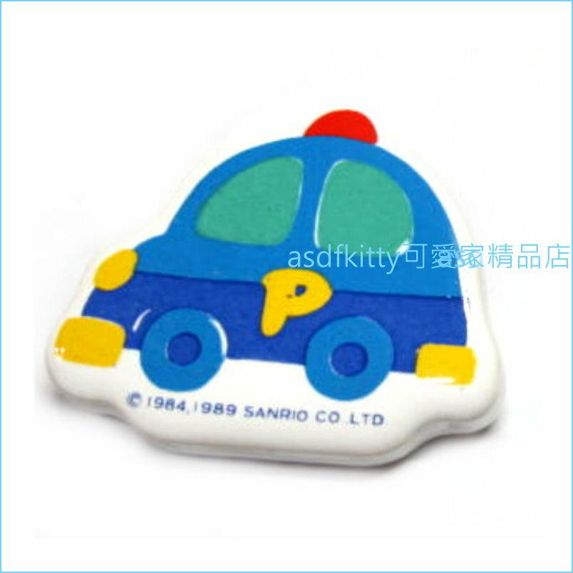 asdfkitty可愛家☆TOMICA小汽車早期造型陶瓷筷架-1989年絕版商品-日本製