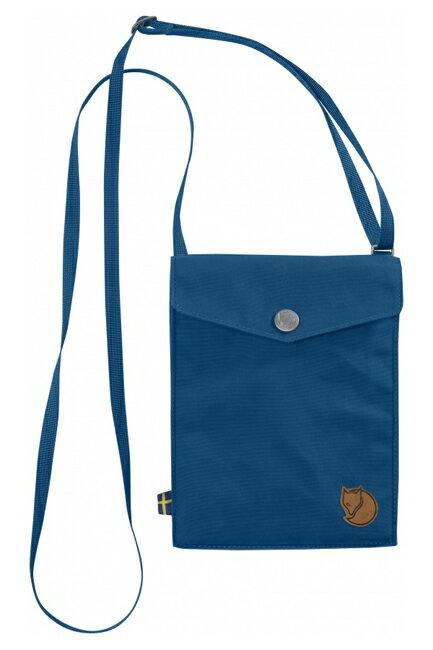 【鄉野情戶外專業】 Fjallraven |瑞典|  Fjällräven Pocket 旅行隨身袋 護照包 側肩包《湖藍色》 _24221