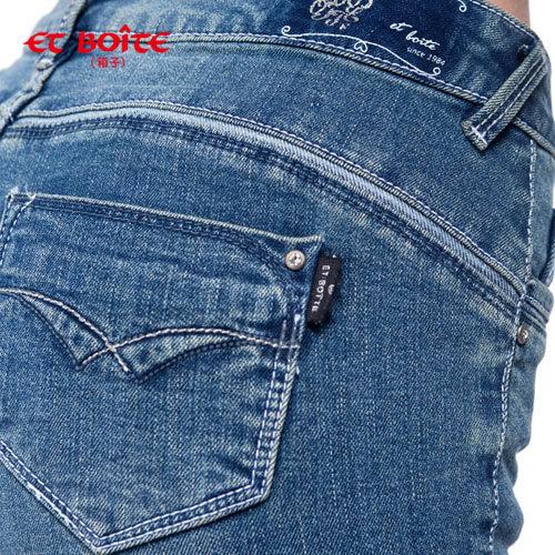 【8折限定↘】零著感輕旅中腰小直筒褲 - BLUE WAY  ET BOiTE 箱子 1