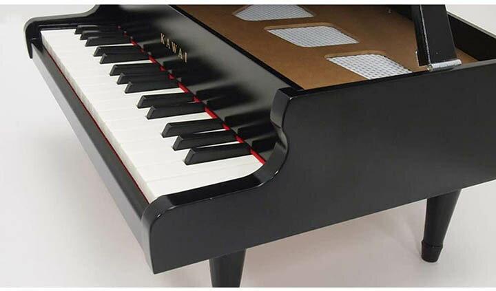 KAWAI【日本代購】河合 迷你鋼琴 日本製P–32  1141-黑色