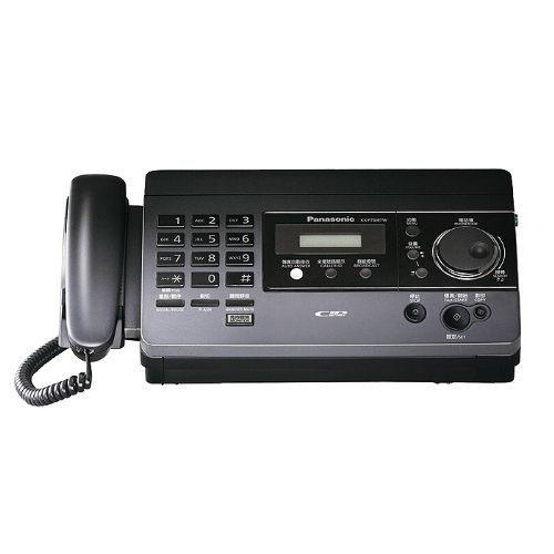Panasonic國際牌 感熱紙傳真機 KX-FT508(鈦黑色)