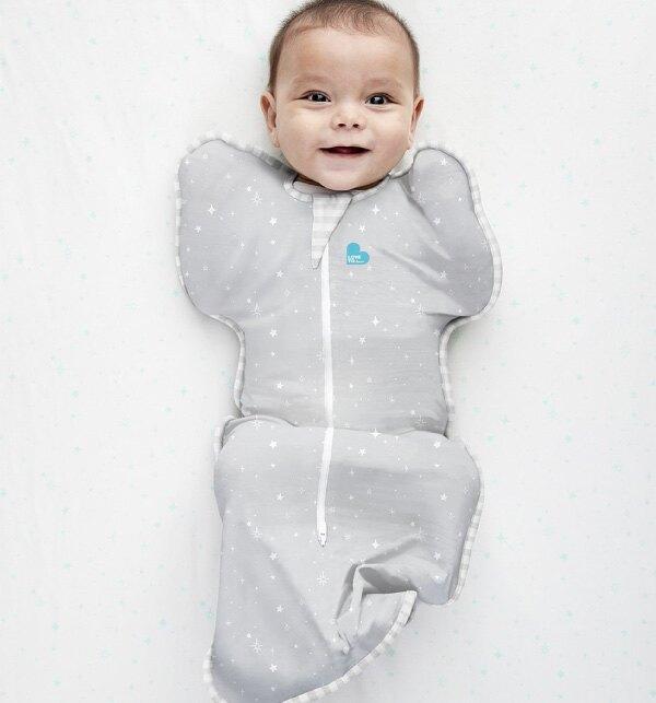 【LOVE TO DERAM】蝶型包巾STAGE1輕薄款S - (0歲~6個月3色可選)