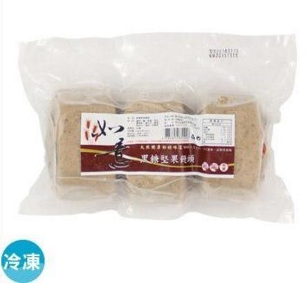 如意 黑糖堅果饅頭 (3顆)330g/包