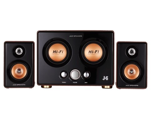JS 淇譽 JY3241 全木質多媒體喇叭 多媒體喇叭 電腦喇叭 音響 音箱 電腦喇叭【迪特軍】