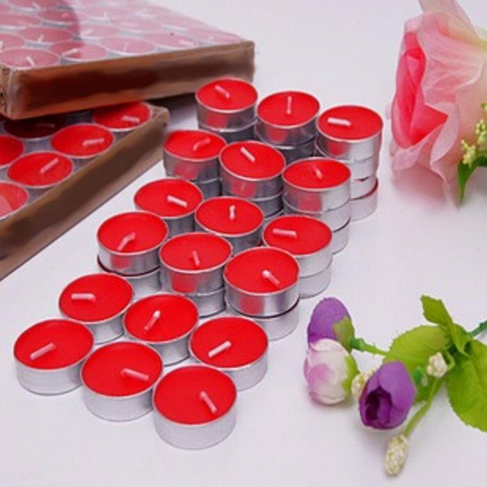 祈福精油燭台專用蠟燭 環保小蠟燭1組10個(使用於燭台,節日慶生等)