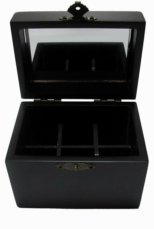 【比賣場還便宜】家居常用芳療 6格木盒 6入精油木盒 精油收納盒 精美質感木盒  木盒顏色為黑