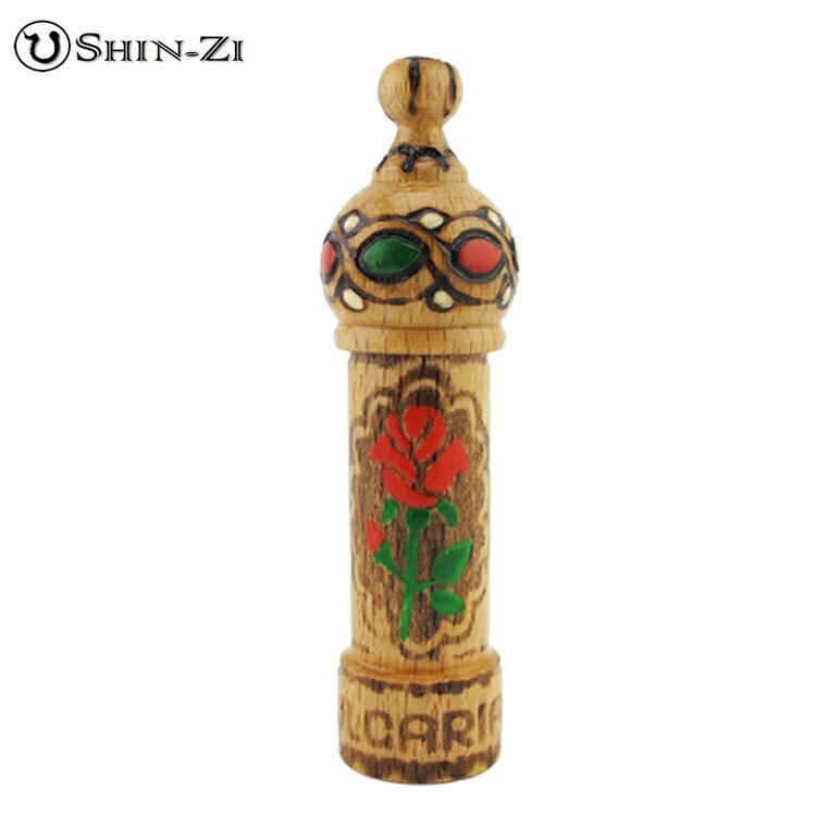 純手工造型管木瓶.外出攜帶手工精油瓶.精油隨身瓶.可額外裝精油補充瓶(1ml,2ml)