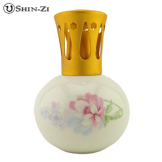 (350ml)薰香精油瓶陶瓷薰香瓶薰香瓶陶瓷瓶牡丹款式