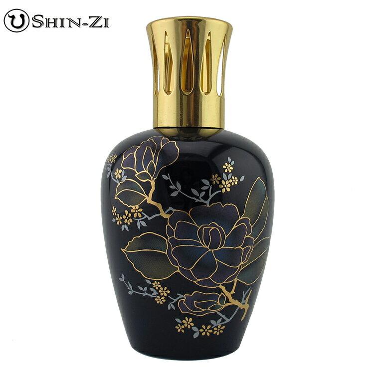 ^(500ml^)薰香精油瓶陶瓷薰香瓶薰香瓶陶瓷瓶玫瑰^(藍^)款式