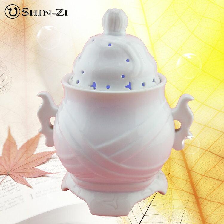 【水氧機】震盪活氧健康器(現代香爐白瓷)