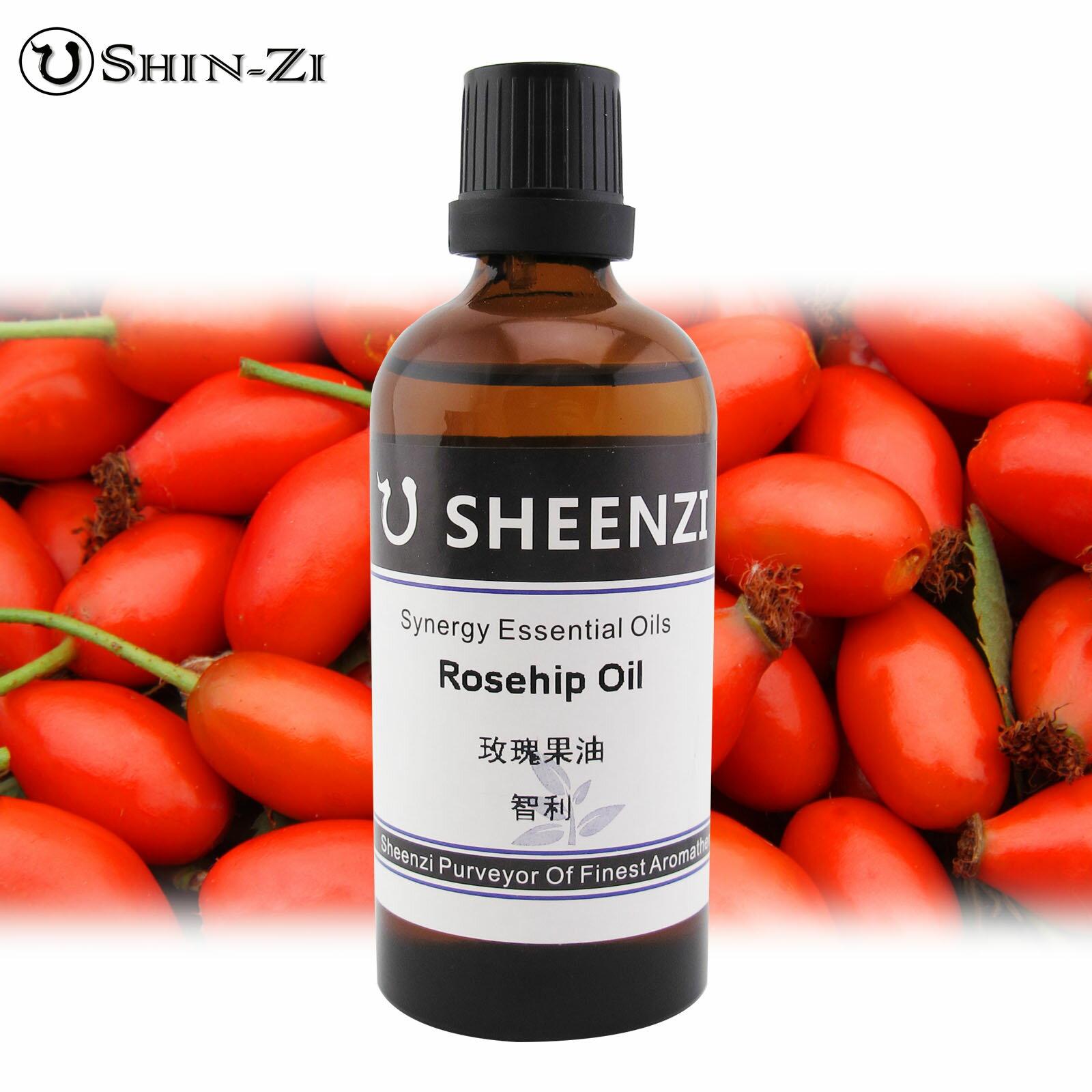 100ml / 1L / 5L 初榨玫瑰果油天然基礎油(智利產區) Rose Hip Oil頂級身體按摩油 植物油 身體按摩油 SPA用油 基底油