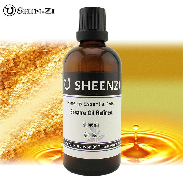 100ml / 1L / 5L 芝麻油天然基礎油(美國產區) 芳療級按摩油 基礎植物油 按摩油 SPA用油