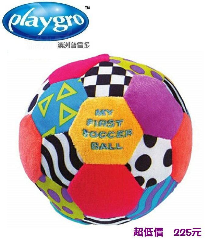 ^~美馨兒^~澳洲Playgro ~小足球布質玩具 225元