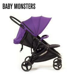 【店長指定款→買就送涼被】【BABY MONSTER】COMPACT 單向手推車(紫)