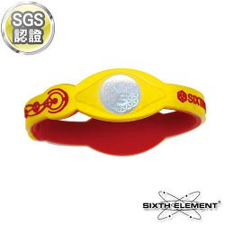第六元素IEB負離子高能量手環 518 紅黃紅【AA05012】 i-Style居家生活