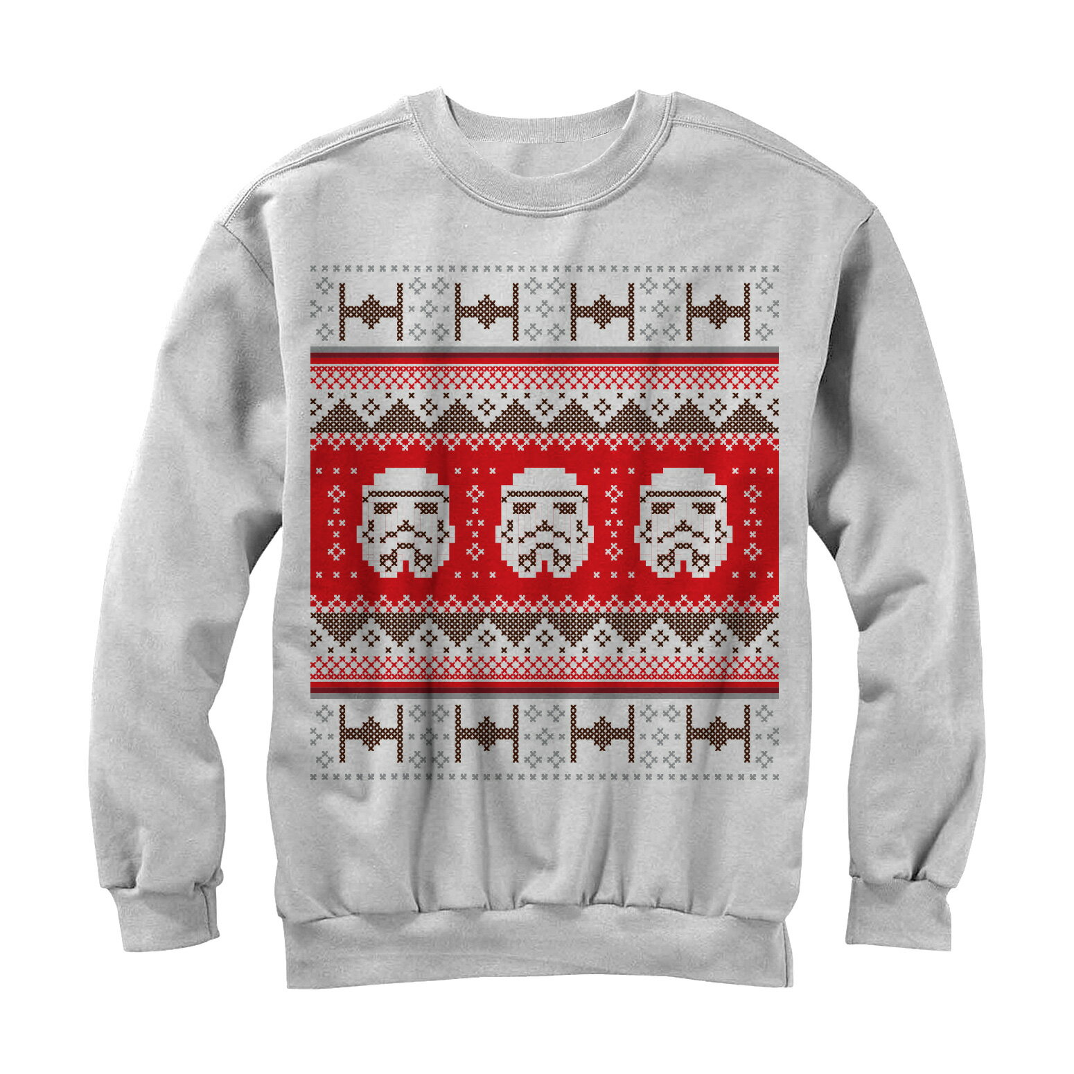 be6fcca558f FifthSun  Star Wars Stormtrooper Ugly Christmas Sweater Mens Graphic ...
