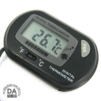 《DA量販店》電子式 魚缸 水族箱 有線式 溫度計 10秒測量 (16-150)