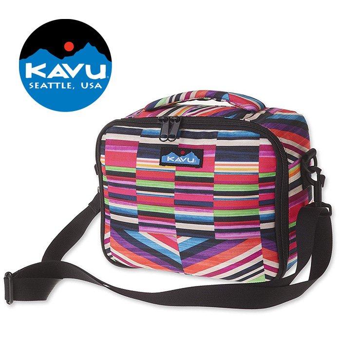 【KAVU 美國】Lunch Box 便當保溫袋 野餐保溫袋 保冷袋 保鮮袋 寶石條紋 (9017-1024)