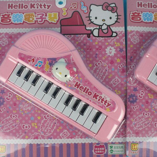Hello Kitty凱蒂貓電子琴玩具 901-324KT音樂電子琴(附電池)/一個入{促199}東匯 正版授權 ST玩具