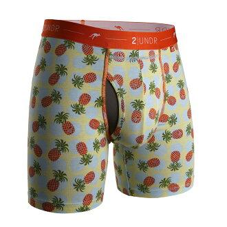2UNDR【DAY SHIFT】男性内著Pineapple Paradise(6吋)