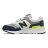 Shoestw【PZ997HCJ】NEW BALANCE NB997 中童鞋 運動鞋 黏帶 免綁帶 Wide 網布 白深灰螢黃 1