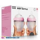 COMOTOMO 矽膠奶瓶 兩入組 150ml 粉色
