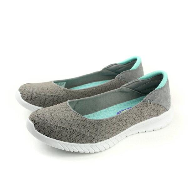 SKECHERSflex懶人鞋休閒鞋灰色23628GYMNno794