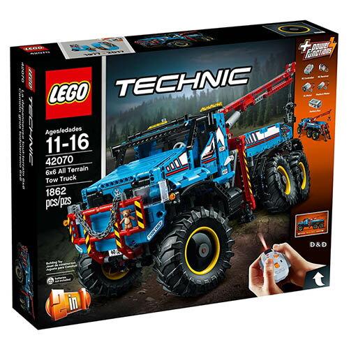 樂高積木LEGO《LT42070》科技Technic系列-6x6越野車