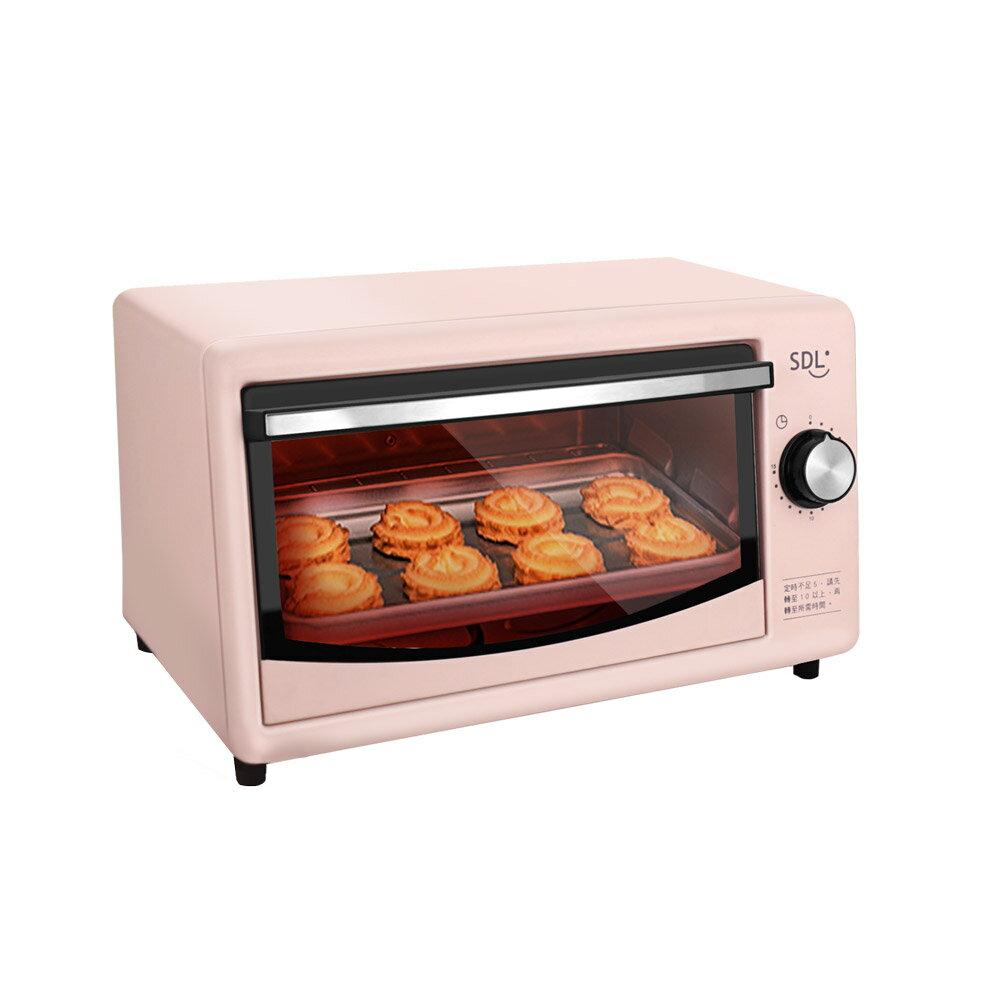 [福利品]【SDL 山多力】8L小烤箱(SL-OV606A)