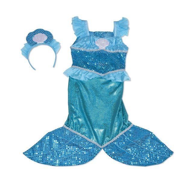 【免運費】《 萬聖節服裝 》美國 Melissa & Doug- 角色服裝 - 美人魚服
