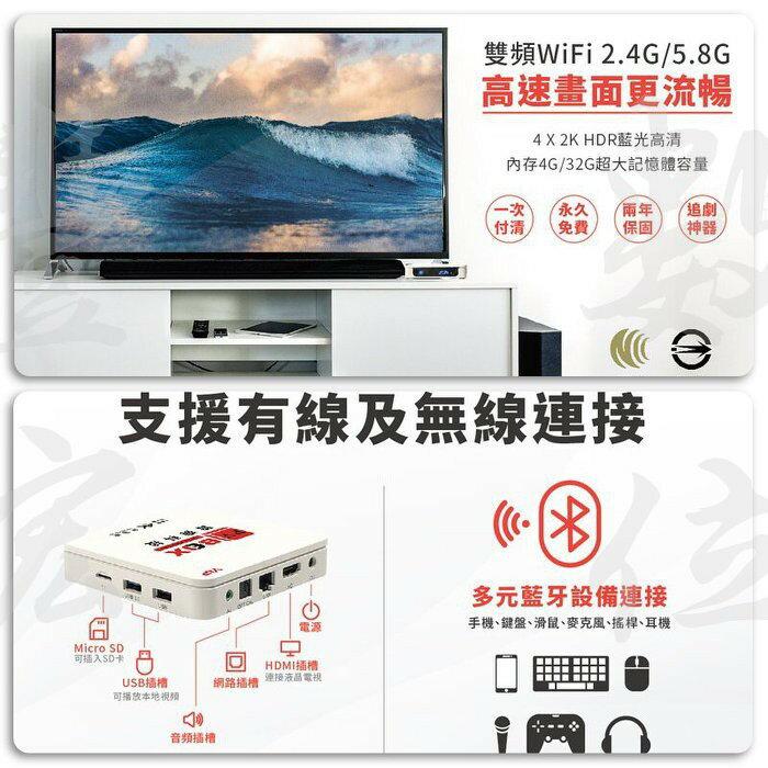現貨快速出貨 可刷卡 PVBOX P4 普視 電視盒 2G RAM/32G ROM 6K畫質 原廠一年保固 高高雄實體門市 『豐宏數位』
